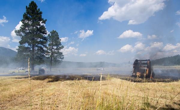 hay fire by wm