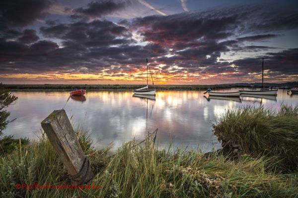 Morston Quay Sunrise by PaulThetfordPhotography