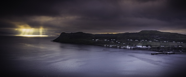 Heavenly Light at Uig Bay