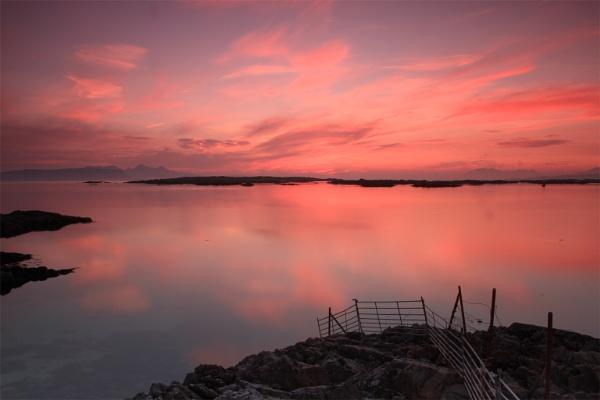 Rhu Sunset by DanielCampbell