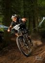 Enduro mountain biker