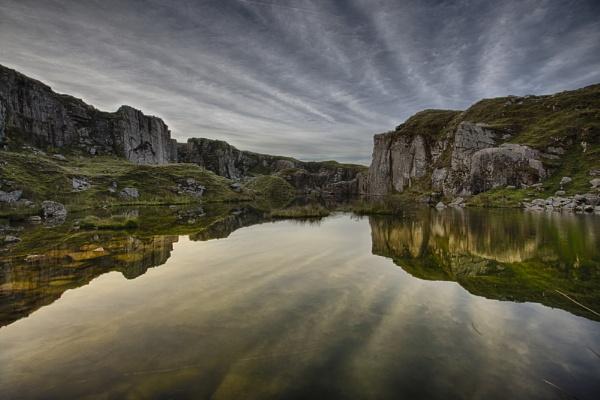 Foggintor Quarry Dartmoor by Devon_Sunsets