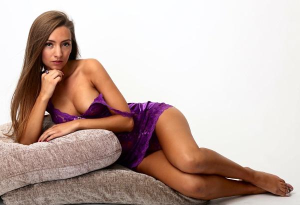 It\'s That Purple Neglijay, Negleegi, Neglli ... Night-dress-thing Again. by Bogwoppett