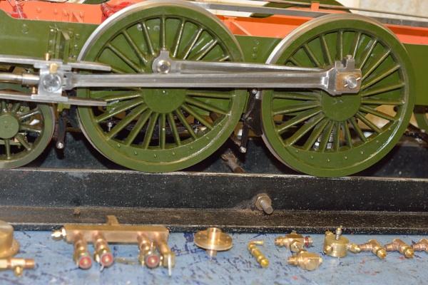Part built 5inch Steam Locomotive by robertt