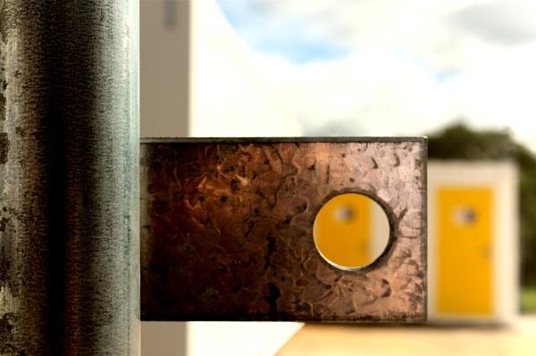 Yellow doors by helenlinda