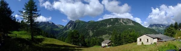 Panarama of Swiss countryside 2013 by davevee