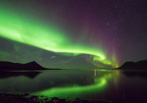 Northern lights...Iceland by Woofmix