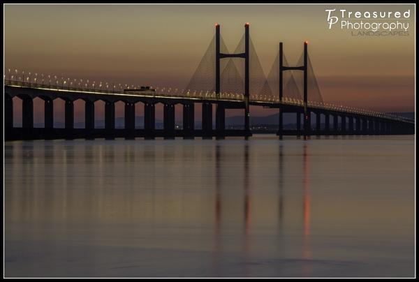Light trail on the bridge by madmatt