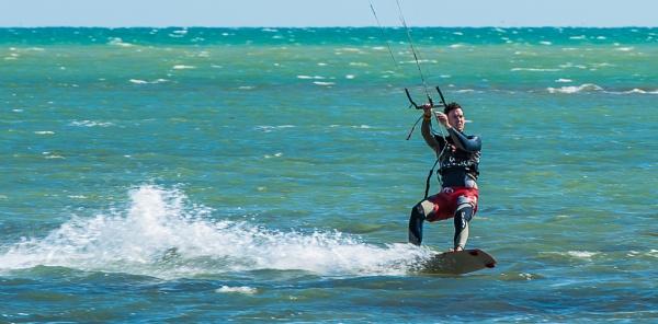 Kite Surfer by Pwenham