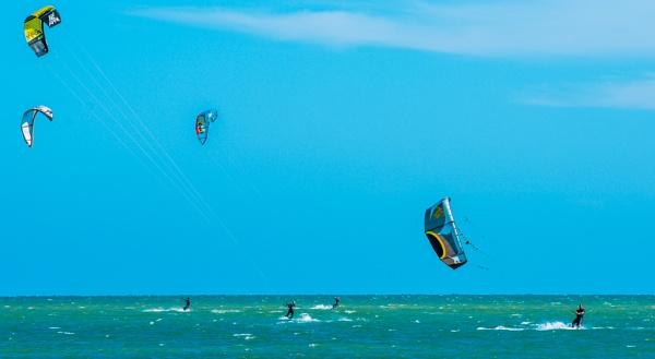 Kite Surfers 03 by Pwenham