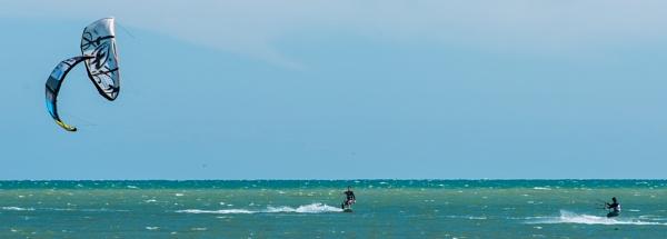 Kite Surfers 02 by Pwenham