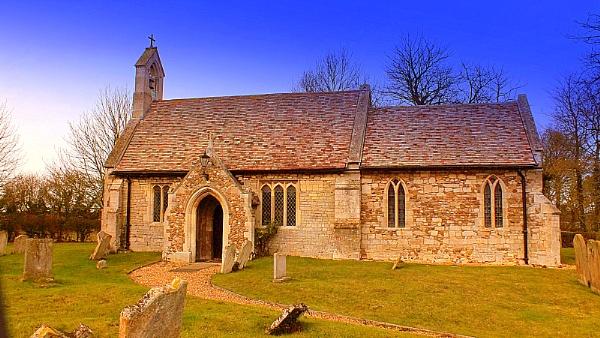A Village Church by crissyb