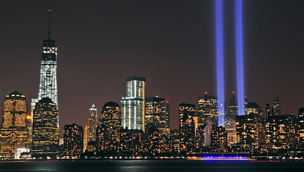 Tribute in Light by TyChee