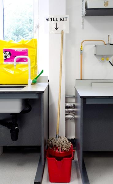 University Lab Spill Kit by Cammy