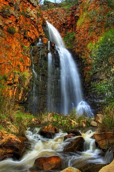 Morialta Falls HDR by STOCKSHOTS4U