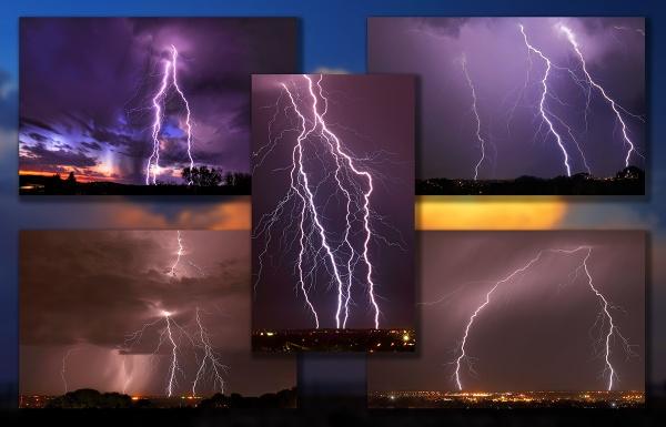 Lightning Montage-1 by STOCKSHOTS4U