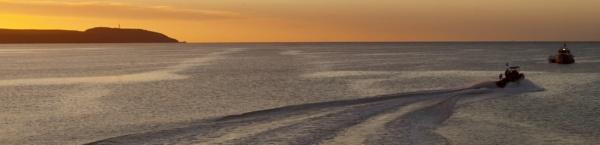 Sun Rise Charlestown Cornwall by cornish_chris