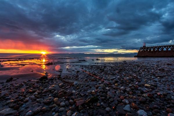 maryport sunset by lesterlester