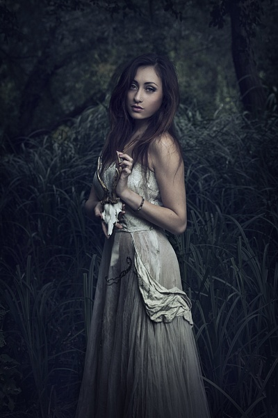Forest girl by Angi_Wallace