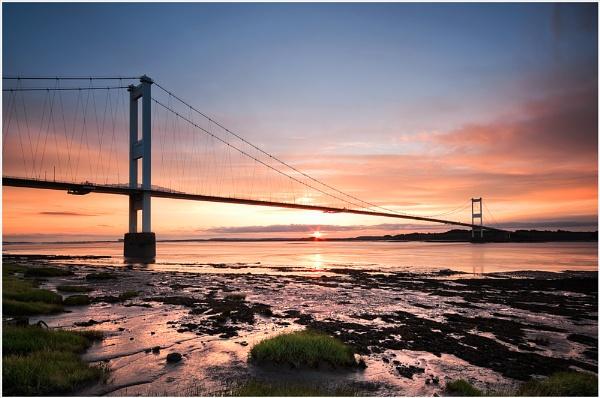 Severn Bridge Dawn by Morgs