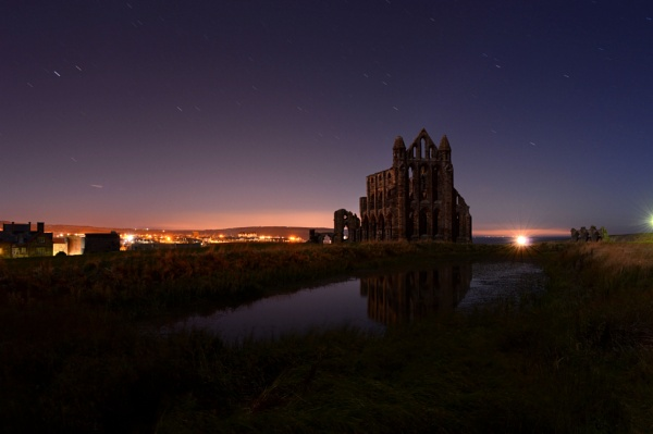 Whitby Abbey Starlight by stephenscott