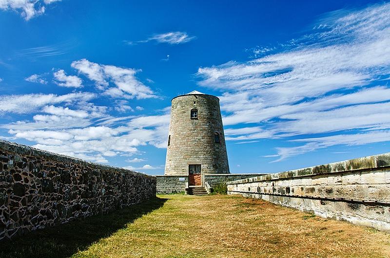 Old Windmill, Bamburgh Castle
