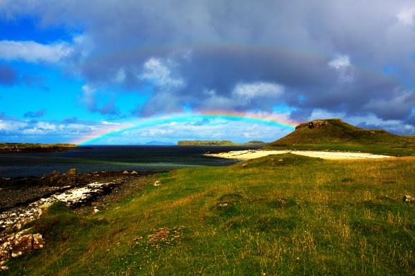 Coral Beach Rainbow by Ian55