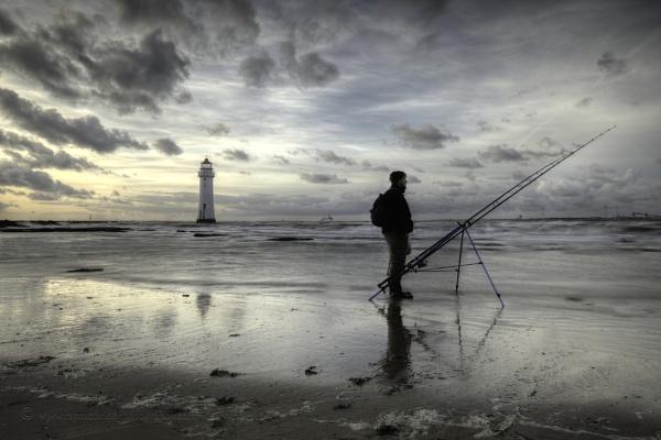 "\""Fisherman at Perch Rock\"" (New Brighton) by razorraymac"