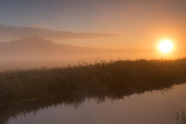 Misty Tor Morning by livinglevels