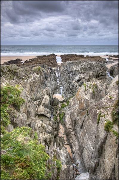 Woolacombe Rocks by steve_fdr