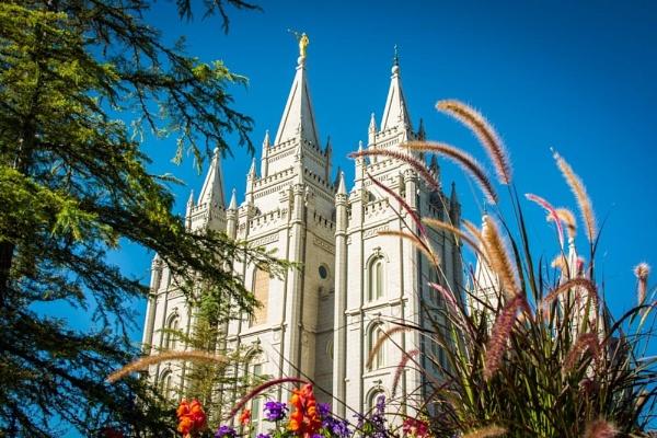 Salt Lake City Temple by ssnidey