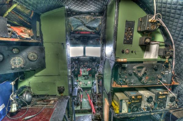 Dakota Cock Pit - Elvington Air Museum - York by Westroyd08