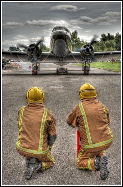 Dakota With Engines Running - Elvington Air Museum - York by Westroyd08