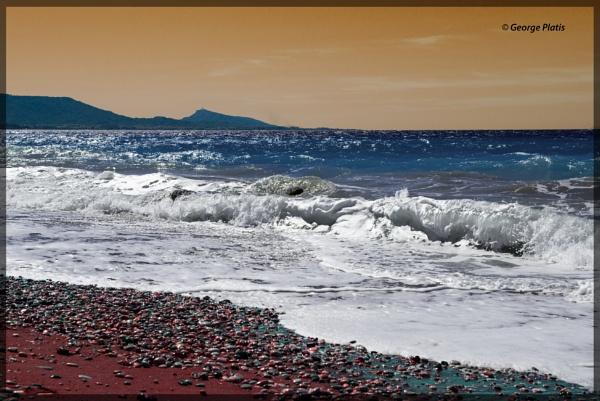 Surrealistic beach by GeorgePlatis