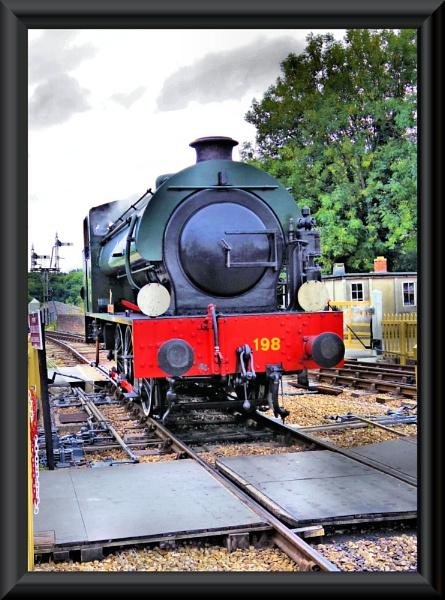 Royal engineer...isle of wight steam railway by uzi35mm