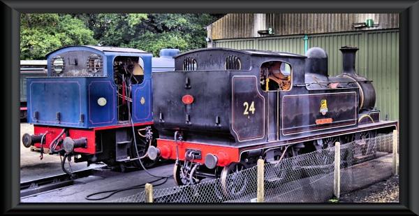 Thomas the tank engines...isle of wight steam railway by uzi35mm