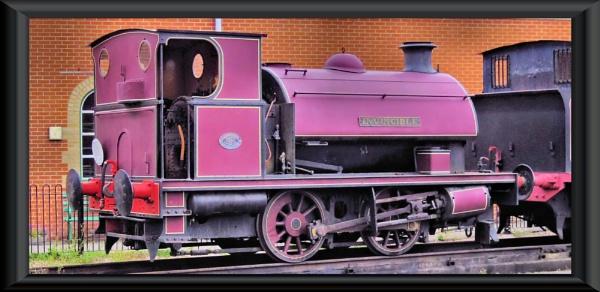 invincible...isle of wight steam railway by uzi35mm