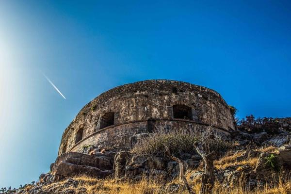 Mezzaluna, Spinalonga, Crete by derrymaine