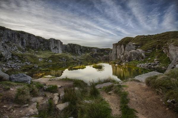 Dartmoor Foggintor quarry by Devon_Sunsets