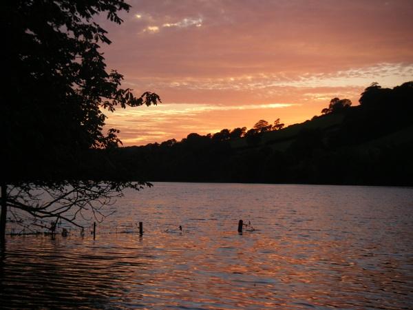 Sunset, Devon