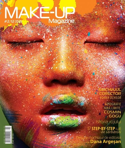 Make Up magazine cover by AnyaKozyreva