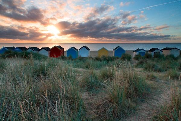 Southwold Beach Huts by RichieL