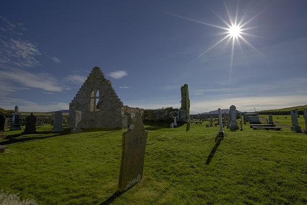 Balnakeil Church,Durness,NW Sutherland. by amwaluk