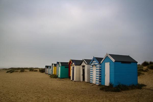 Southwold Beach Huts by siduck68