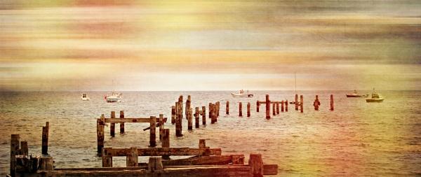 Swanage Bay by sluggyboy