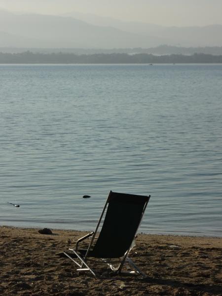 waiting by beachnsand