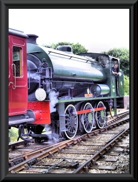 shunting...isle of wight steam railway by uzi35mm