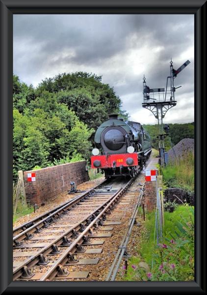 All Aboard....isle of wight steam railway by uzi35mm