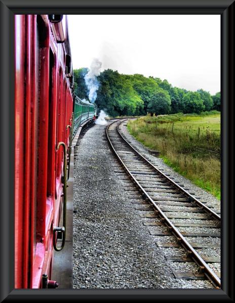 Full steam ahead....isle of wight steam railway by uzi35mm