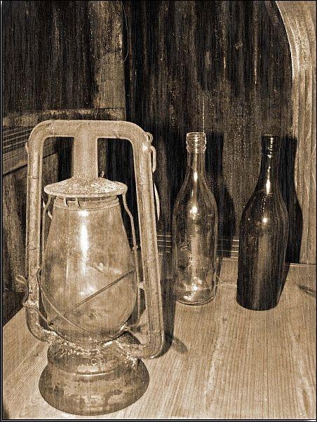 Lamp & bottles by cramj